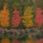 """Olmsted Park in Autumn 18 x 20"""" Oil on Canvas 2005"""