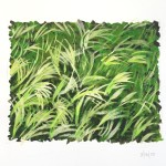 "Reeds - Gouache on Paper - 5.5 x 6"" - 2015"
